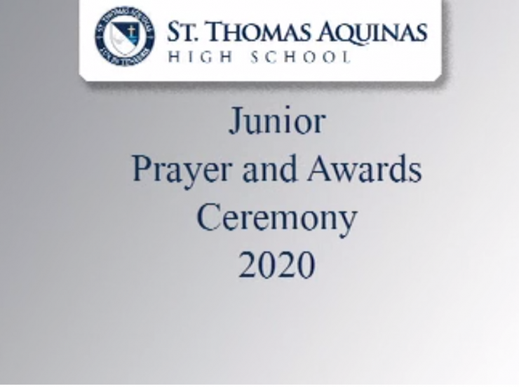 Class of 2021 Prayer and Awards Ceremony
